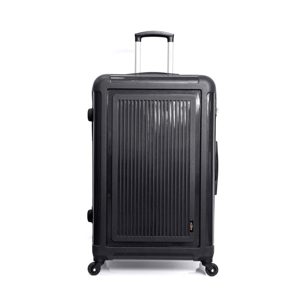 Čierny cestovný kufor na kolieskach Bluestar Tullo, 101 l