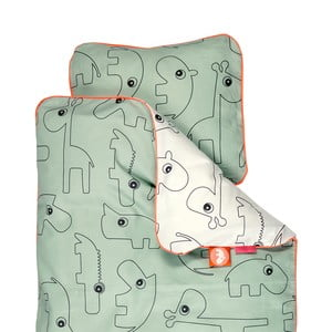 Obliečky Contour Green, 100x135 cm