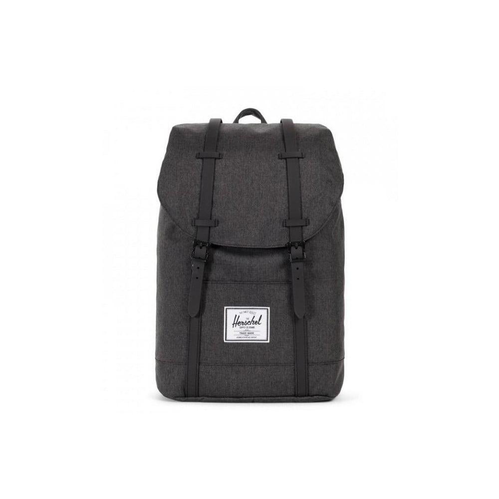 Čierny batoh s čiernymi popruhmi Herschel Retreat, 19,5 l