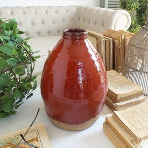 Váza Orchidea Milano Atomic Red,výška28cm