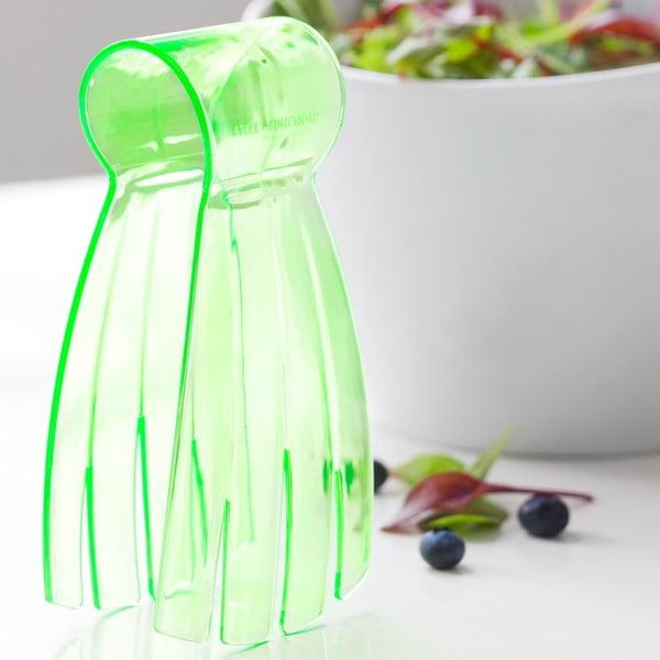 Šalátové kliešte Salad Hand, zelené