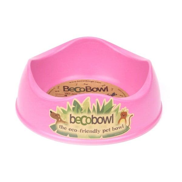 Miska pre psíkov/mačky Beco Bowl 17 cm, ružová