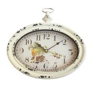 Oválne nástenné hodiny Bolzonella Olive