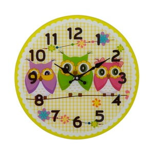Nástenné hodiny Mauro Ferretti Owls