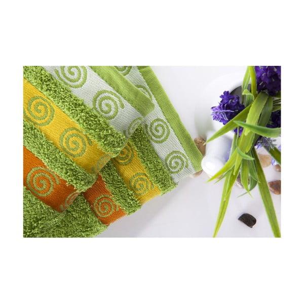 Sada 2 uterákov Truva Green, 50x90 cm