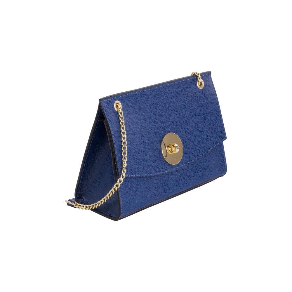 20052e7f8 Modrá kabelka z pravej kože Andrea Cardone Elda   Bonami