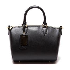 Čierna kožená kabelka Sofia Cardoni Ines