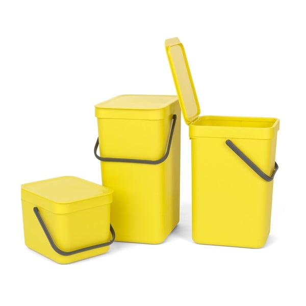 Kôš Sort & Go 16 l, žltý