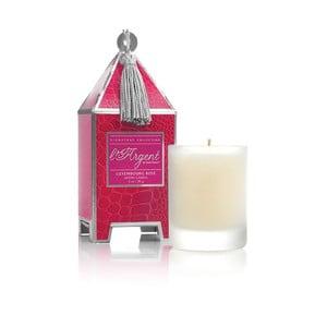 Sada 2 sviečok Luxembourg Rose, 15-20 hodín horenia