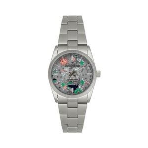 Unisex hodinky striebornej farby Zadig & Voltaire Spray