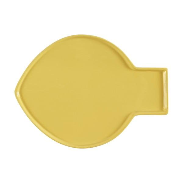 Žltý tanier Athezza Caracas