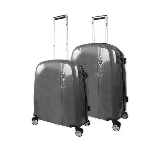 Set 2 cestovných kufrov Victorio Antracita