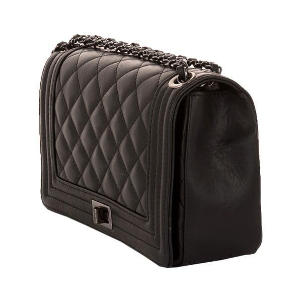 Kožená kabelka Andrea Cardone 2033 Black