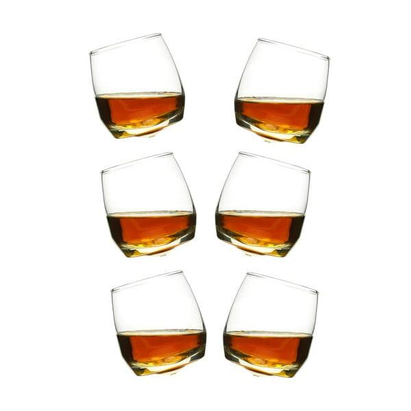 Sada 6 hojdajúcich sa pohárov na whiskey Sagaform