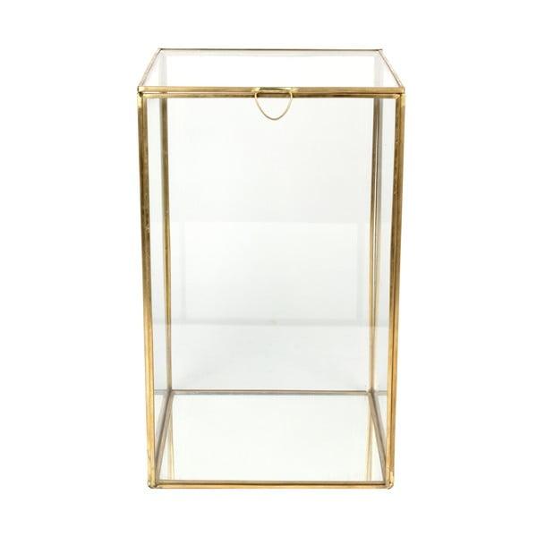 Sklenená vitrínka ComingB Miroir, 18x18 cm