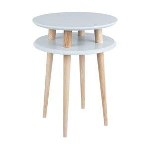 Odkladací stolík UFO 61x45 cm, sivý
