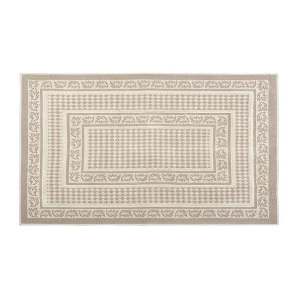 Bavlnený koberec 160x230 cm, krémový