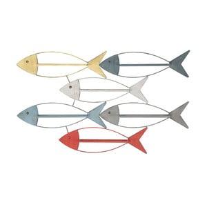 Nástenný držiak na fľaše Mauro Ferretti Fish, 103,5 × 62 cm