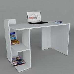 Pracovný stôl Arrival White, 60x120x73,8 cm