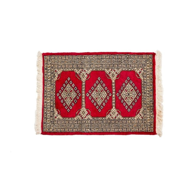 Ručne viazaný koberec Kashmir 101, 91x62 cm