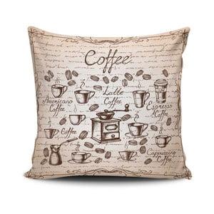 Obliečka na vankúš s prímesou bavlny Cushion Love Maresso, 45 × 45 cm