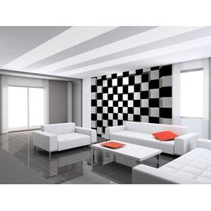 Veľkoformátová tapeta BW Squares, 366x254 cm