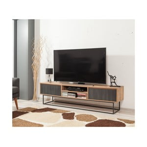 TV stolek sšedými dvířky Industrio, délka180cm