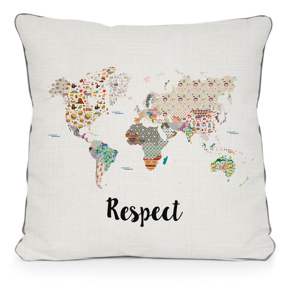Obliečka na vankúš z mikrovlákna Really Nice Things Respect, 45 × 45 cm