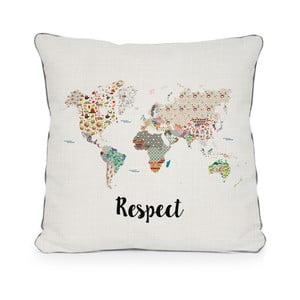 Obliečka na vankúš z mikrovlákna Really Nice Things Respect, 45×45 cm