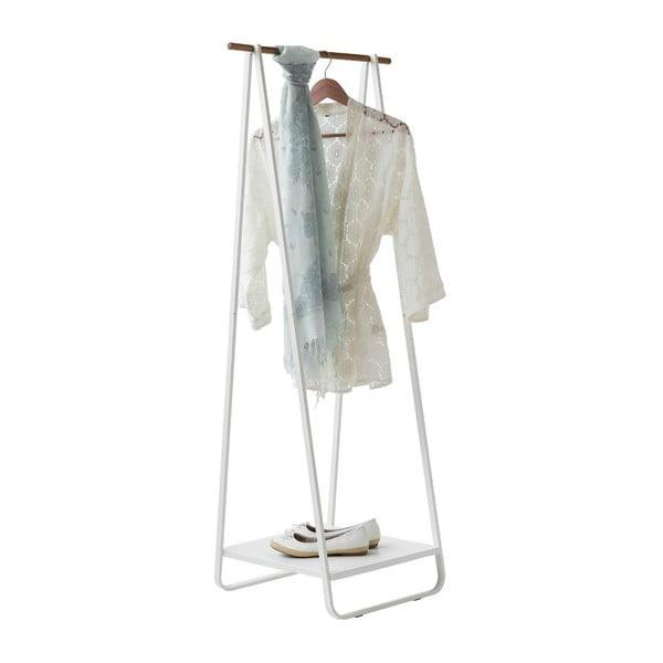 Stojan na oblečenie s poličkou Portant Blanc