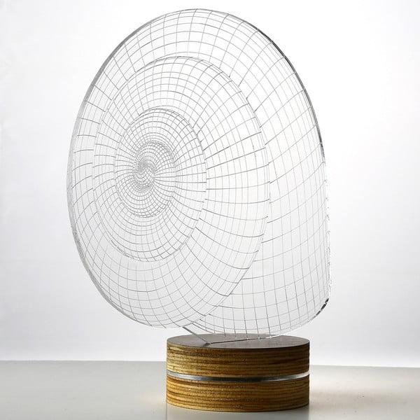 3D stolová lampa Snail
