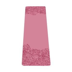Ružová podložka na jogu Yoga Design Lab Aadrika Rose, 5 mm