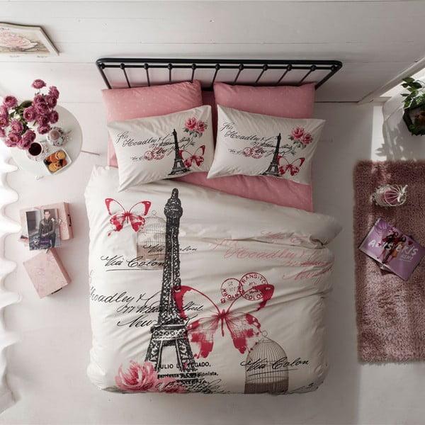 Obliečky s plachtou Eiffel Tower, 160x220 cm