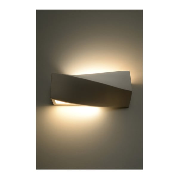 Nástenné keramické svetlo Nice Lamps Taurus Mini