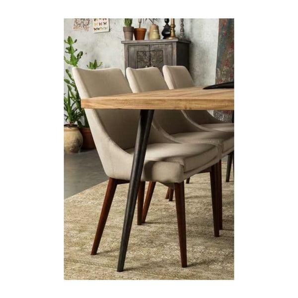 Béžová stolička Dutchbone Juju