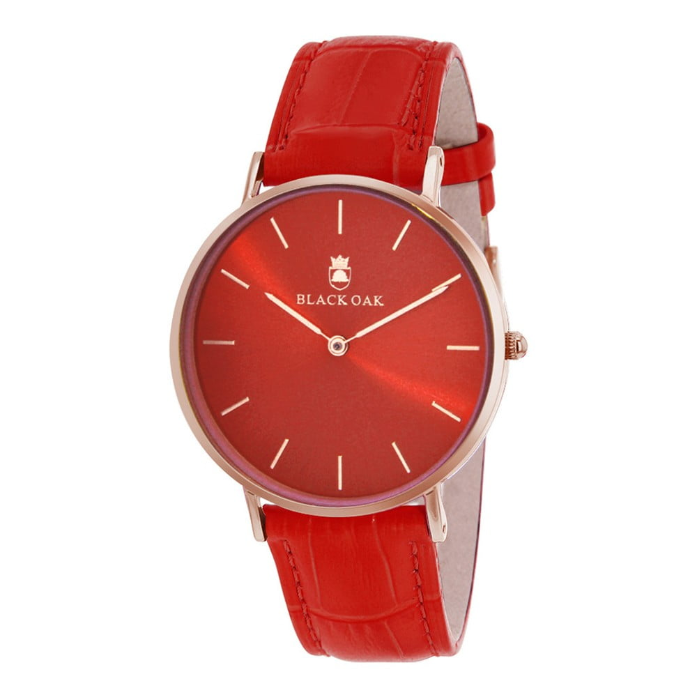 Červené dámske hodinky Black Oak Presca  b7712ac5eba