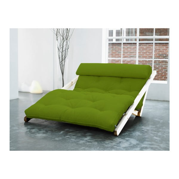 Leňoška Karup Figo, Raw/Lime, 120 cm