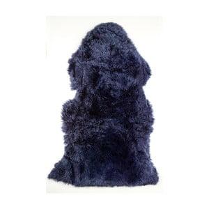 Tmavě modrá ovčí kožešina Royal Dream Sheep,120x60cm