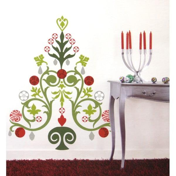 Samolepka na stenu Vianočný stromček