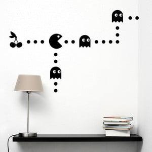Samolepka na stenu Pacman