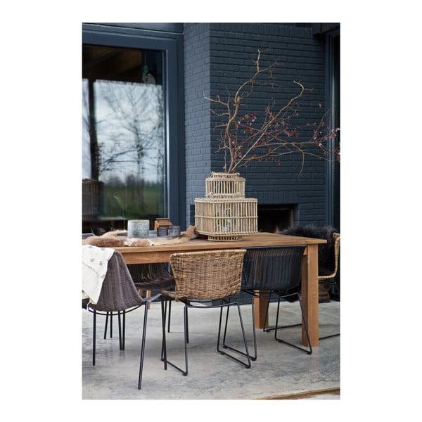 Jedálenský stôl z teakového dreva De Eekhoorn Karlijn, 90×200cm