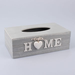 Box na vreckovky Country Home Grey