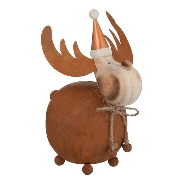 Dekorácia J-Line Reindeer Met