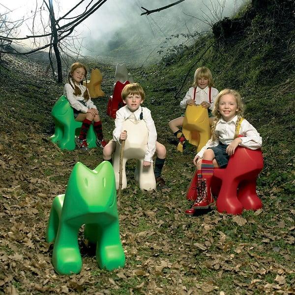 Detská zelená stolička Magis Julian