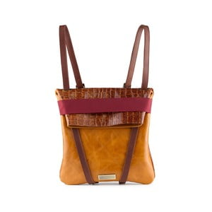 Kožený obojstranný batoh Maria/Maleta Classic