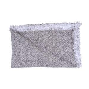 Sivobéžová bavlnená deka Walra Yara, 130×170 cm