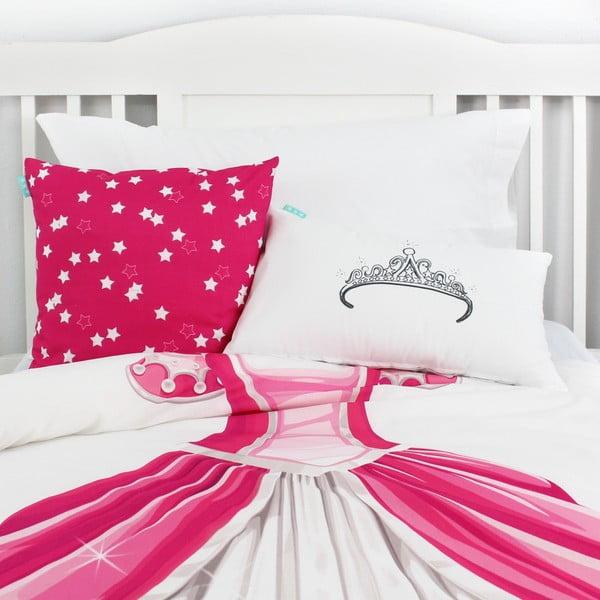 Bavlnená obojstranná obliečka na vankúš Baleno My Princess, 50 x 30 cm