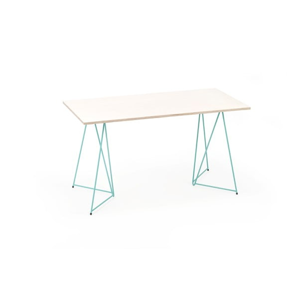 Zelená noha ku stolu Master & Master Diamond Narrow, 70x55cm