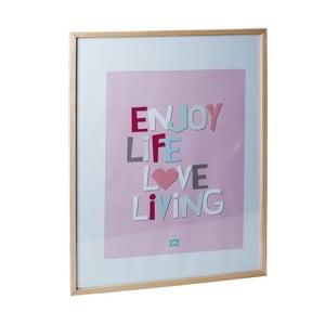 Fotorámček s obrázkom Hand Pink