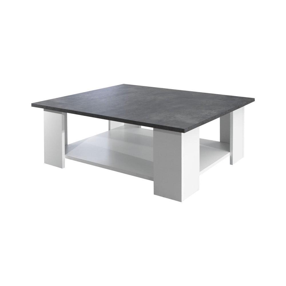 Sivo-biely konferenčný stolík Symbiosis Hela
